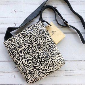 Patricia Nash Stipes Crossbody Bag Sunflower